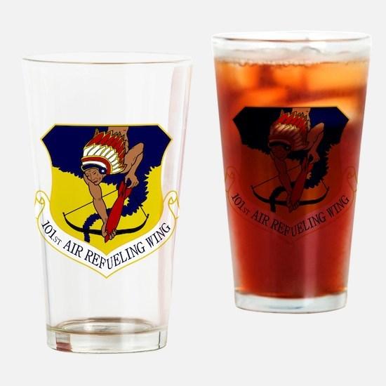 101st ARW Drinking Glass