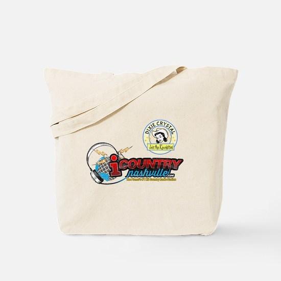 Dixie Crystal Retro Distressed Tote Bag