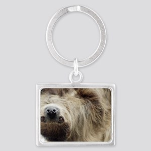 Sloth Landscape Keychain