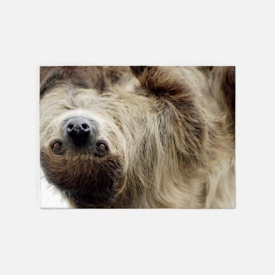 Sloth 5'x7'Area Rug