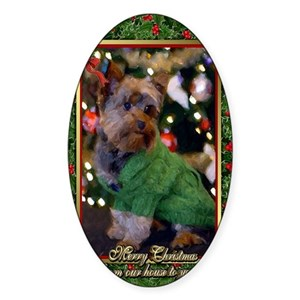 Christmas Yorkshire Terrier Gifts Cafepress