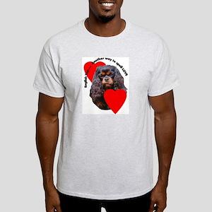 Cavalier King Charles Love Light T-Shirt