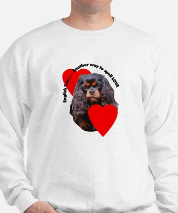 Cavalier King Charles Love Sweatshirt