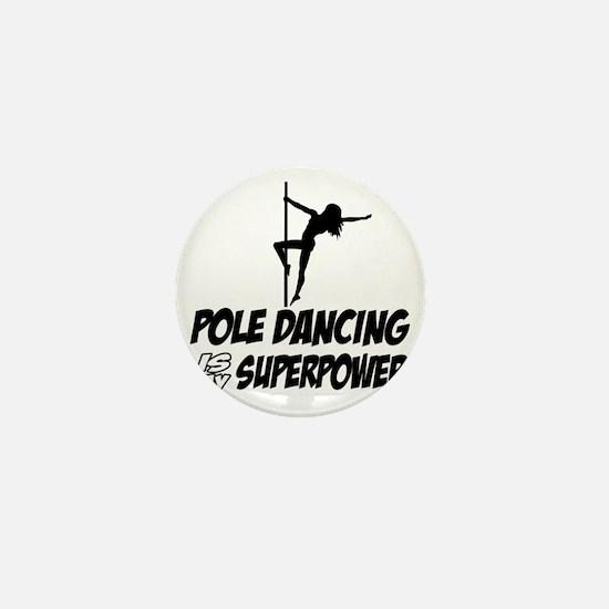 Pole Dancing designs Mini Button