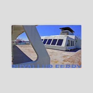 Puyallap Ferry 308 3'x5' Area Rug