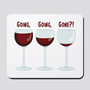 GOING, GOING, GONE?! Mousepad