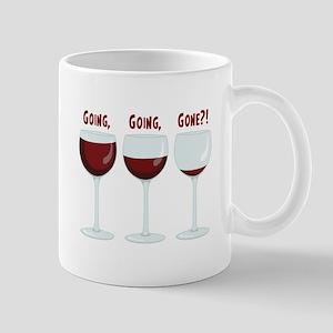GOING, GOING, GONE?! Mugs
