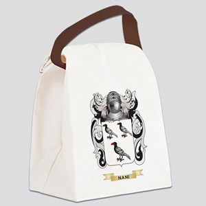 Nani Coat of Arms (Family Crest) Canvas Lunch Bag