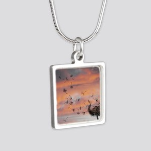 Dandy Silver Square Necklace