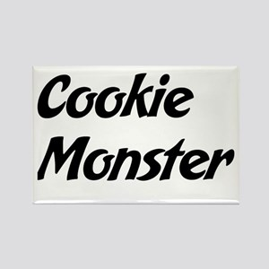 Cookie Monster Rectangle Magnet