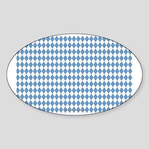 UNC Carolina Blue Argle Basketball Sticker (Oval)