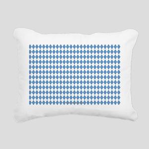 UNC Carolina Blue Argle  Rectangular Canvas Pillow