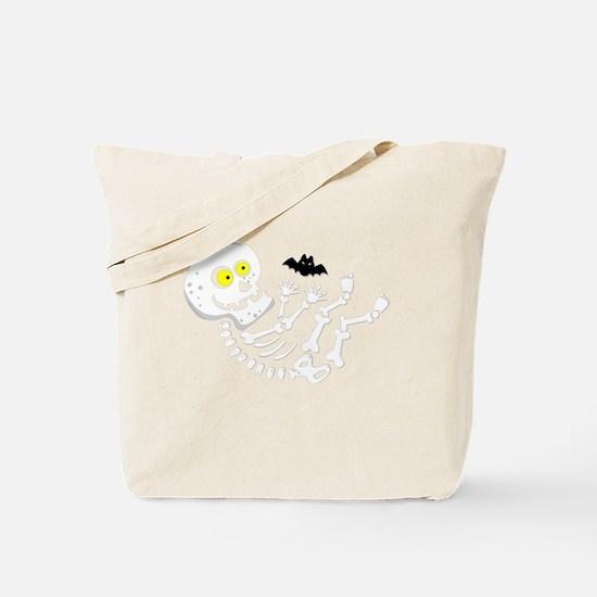 Maternity Skeleton Baby Tote Bag