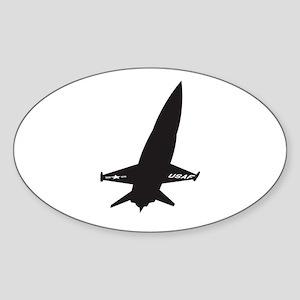 X-15 Sticker (Oval)