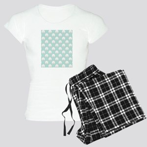 Clamshells SB W Lt Teal Women's Light Pajamas