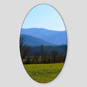 Great Smoky Mountains Sticker (Oval)