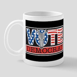 Vote Dem Donkey Mug