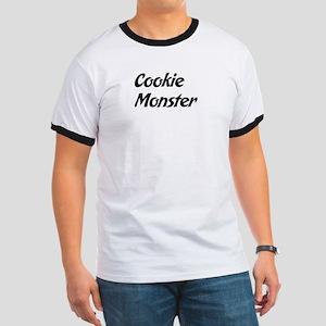 Cookie Monster Ringer T