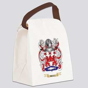 Neill Coat of Arms (Family Crest) Canvas Lunch Bag