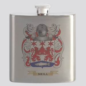 Neill Coat of Arms (Family Crest) Flask