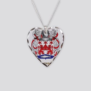 Neill Coat of Arms (Family Cr Necklace Heart Charm