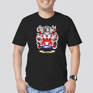 Neill Coat of Arms (Fa Men's Fitted T-Shirt (dark)