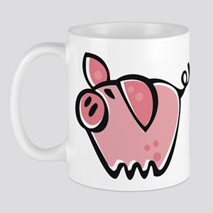 Cute Cartoon Pig Mug
