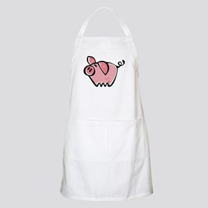 Cute Cartoon Pig BBQ Apron