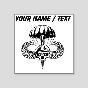 Custom Paratrooper Skull Sticker