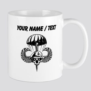 Custom Paratrooper Skull Mugs