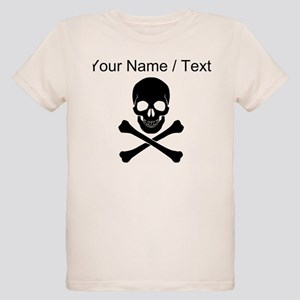 Custom Skull And Crossbones T-Shirt