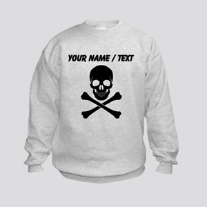 Custom Skull And Crossbones Sweatshirt