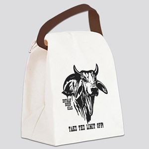 Take The Limit Off! Canvas Lunch Bag