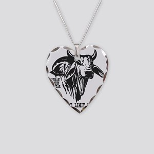 Take The Limit Off! Necklace Heart Charm