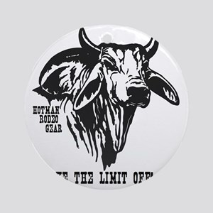 Take The Limit Off! Round Ornament