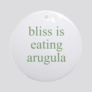 bliss is eating arugula Ornament (Round)