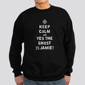 Keep Calm -Ghost is Jamie! Sweatshirt