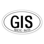 GIS Oval Sticker