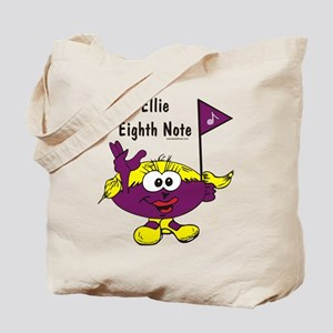 Ellie Eighth Note Tote Bag