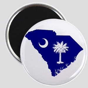 South Carolina Palmetto Magnet