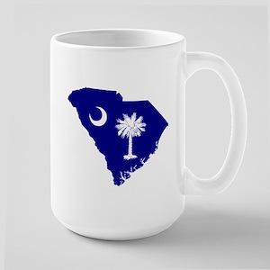 South Carolina Palmetto Large Mug
