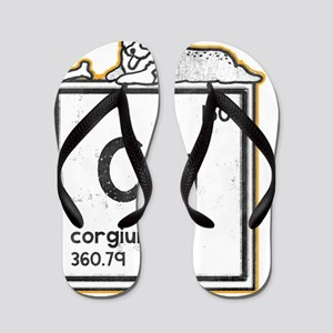 Corgium Flip Flops