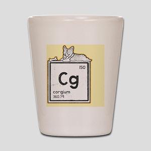 Corgium Shot Glass