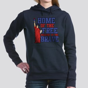 Home of the free because of the  Hooded Sweatshirt