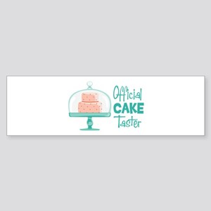 Official CAKE Taster Bumper Sticker