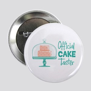 "Official CAKE Taster 2.25"" Button"