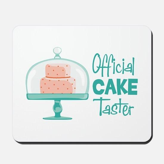 Official CAKE Taster Mousepad