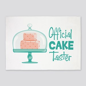 Official CAKE Taster 5'x7'Area Rug