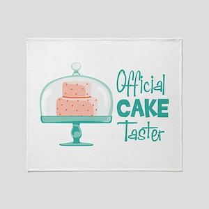 Official CAKE Taster Throw Blanket