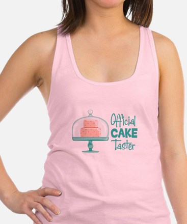 Official CAKE Taster Racerback Tank Top